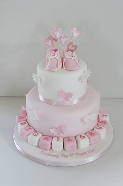Inscription On Christening Cake