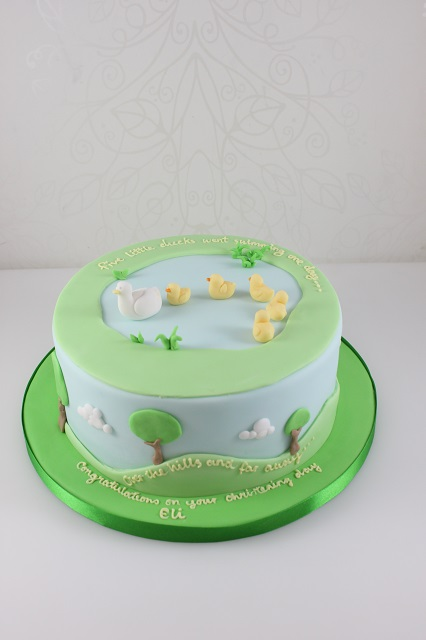 Baby Christening The Fairy Cakery Cake Decoration