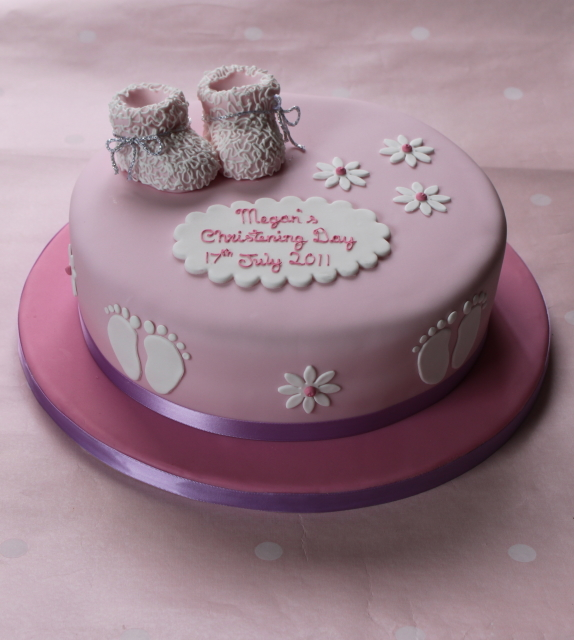 Christening Cake Design For Baby Girl : Baby / Christening - The Fairy Cakery - Cake Decoration ...