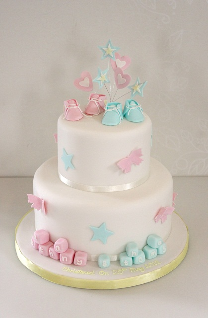 Baby / Christening - The Fairy Cakery - Cake Decoration ...
