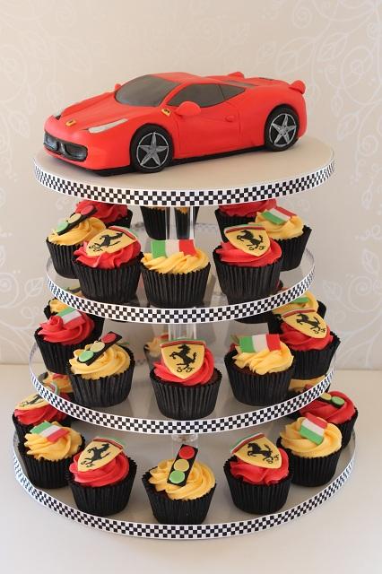 Ferrari Cake Topper
