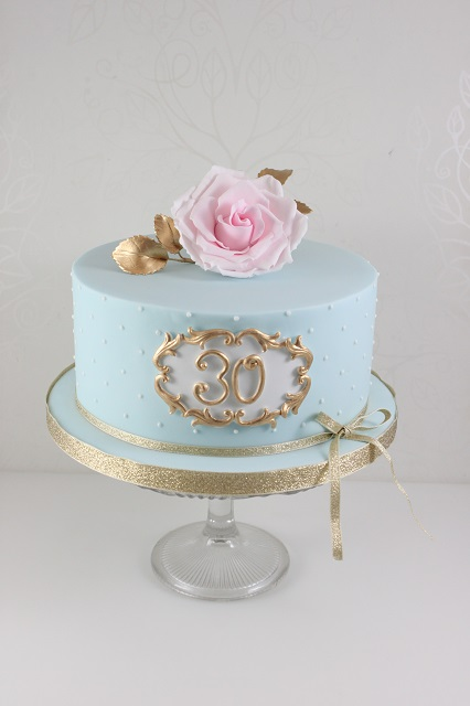 Click To Enlarge Image Ladies 30th Birthday Cake
