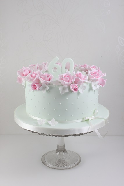 Click To Enlarge Image Ladies 60th Birthday Cake