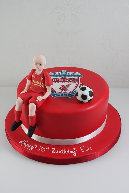 Liverpool Football Cake Decorations