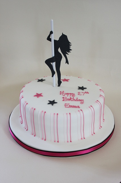 Pole Dancer Cake Design : Birthday - The Fairy Cakery - Cake Decoration and Courses ...