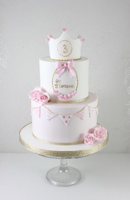 Click To Enlarge Image Girls Princess Birthday Cake