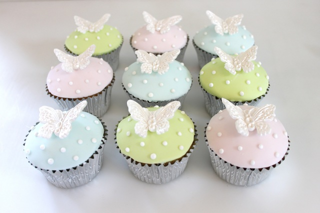 Butterfly Cupcake Images : Cupcakes - The Fairy Cakery - Cake Decoration and Courses ...