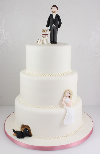How To Make Cake Topper Silhouette