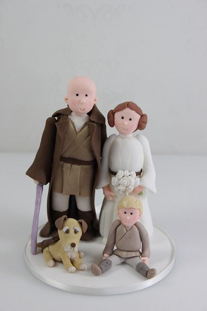 Click To Enlarge Image Star Wars Wedding Cake Topper
