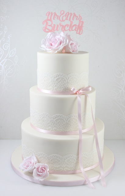 Wedding Cakes - The Fairy Cakery - Cake Decoration and Courses based ...