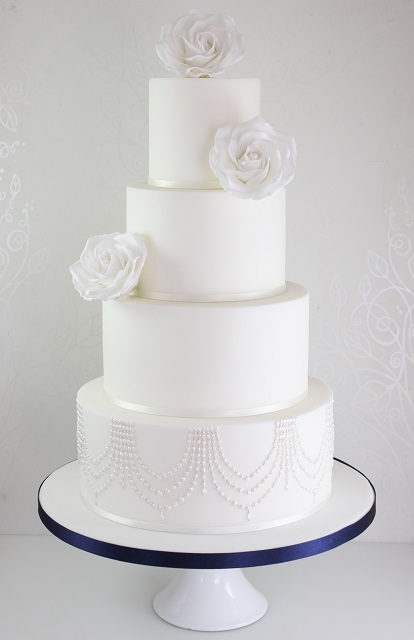 Wedding cakes the fairy cakery cake decoration and for Art deco cake decoration