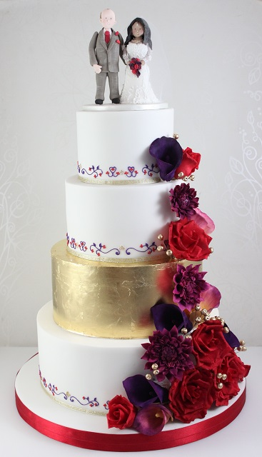 Wedding Cakes - The Fairy Cakery - Cake Decoration and Courses ...