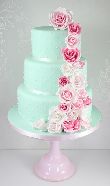 Wedding Cakes - The Fairy Cakery - Cake Decoration and Courses based ...