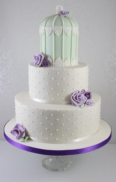 Birdcage Wedding Cake Price